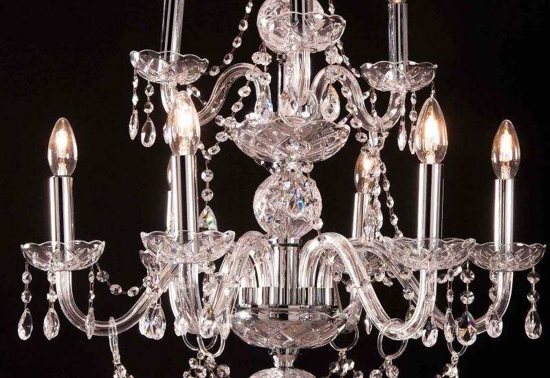 108 / 6+3L - Crystal Lighting