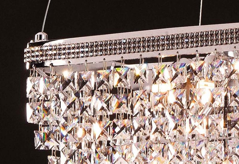 742 / 30X30 - Φωτιστικό κρυστάλλινο