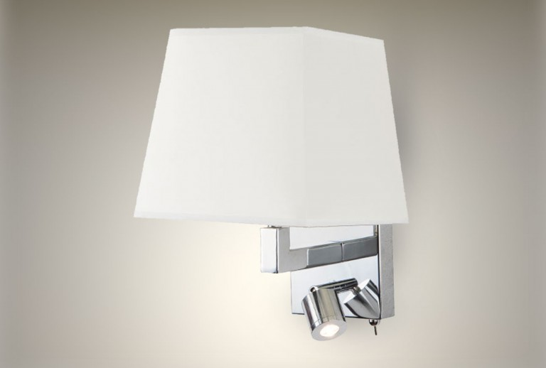 H-26W - Wall Light with Shade
