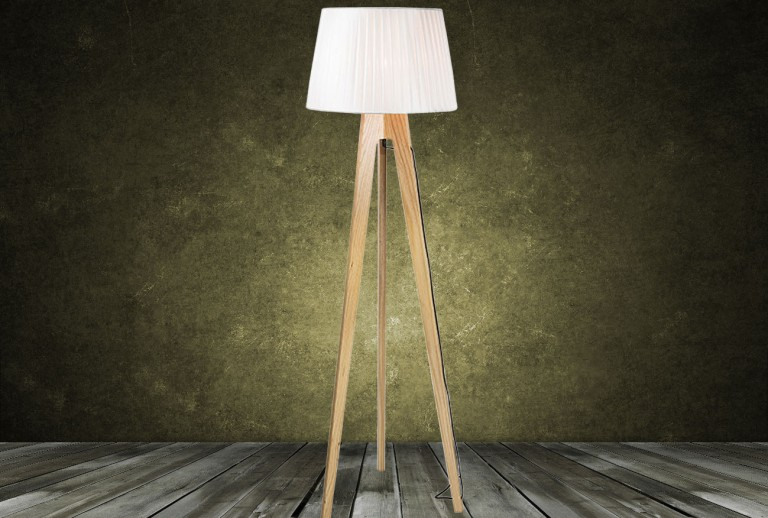 16179  - Floor Lamp with Shade