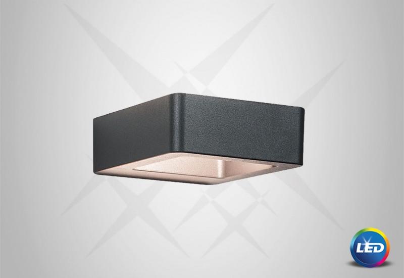 E 120 - LED Επιτοίχιο φωτιστικό εξωτερικού χώρου