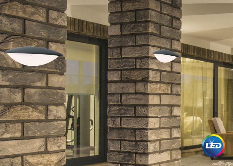 E 115 - LED Επιτοίχιο φωτιστικό εξωτερικού χώρου