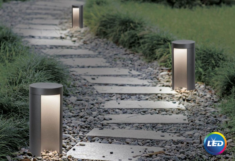 E 133 -   LED Φωτιστικό Εδάφους Εξωτερικού Χώρου Κολωνάκι