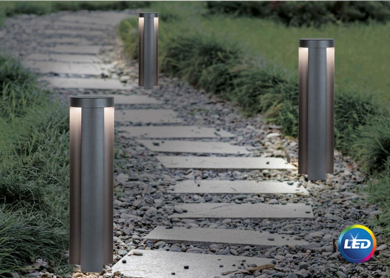 E 132 -   LED Φωτιστικό Εδάφους Εξωτερικού Χώρου Κολωνάκι