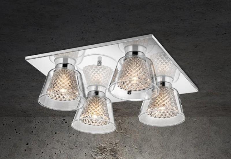335 - MX13003013-4A Φωτιστικό Οροφής