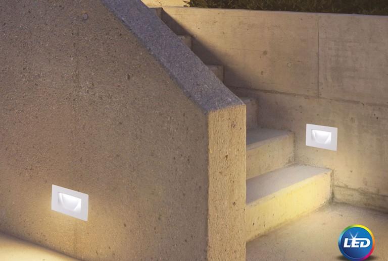 335 - 726402 - LED Επιτοίχιο Φωτιστικό εξωτερικού χώρου