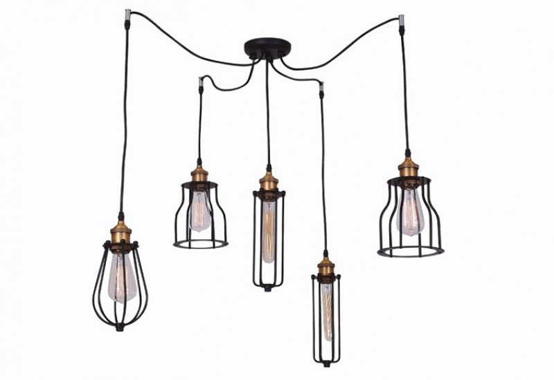 107 - 1450 Pendant Lighting 5L