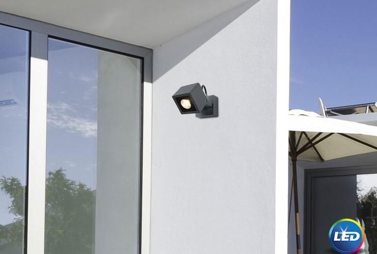 335 - 752470 - LED Επιτοίχιο Φωτιστικό εξωτερικού χώρου