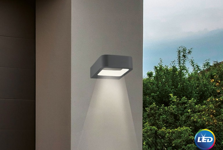 335 - 713312 - LED Επιτοίχιο Φωτιστικό εξωτερικού χώρου