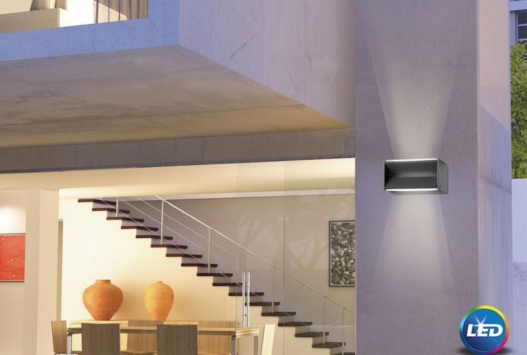 335 - 713122 - LED Επιτοίχιο Φωτιστικό εξωτερικού χώρου