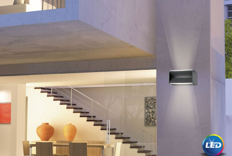 335 - 713122 - LED Outdoor Wall Lamp