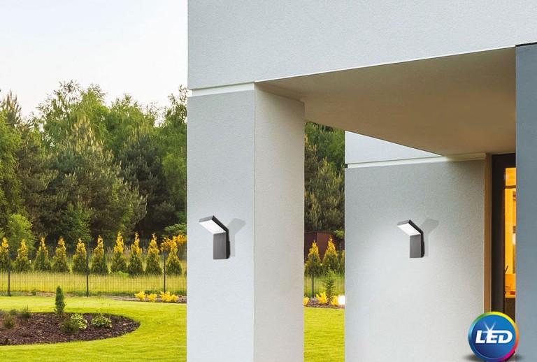 335 - 711024 - LED Επιτοίχιο Φωτιστικό εξωτερικού χώρου