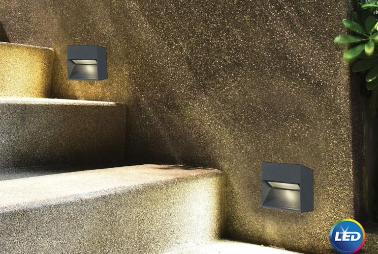 335 - 726408 - LED Επιτοίχιο Φωτιστικό εξωτερικού χώρου