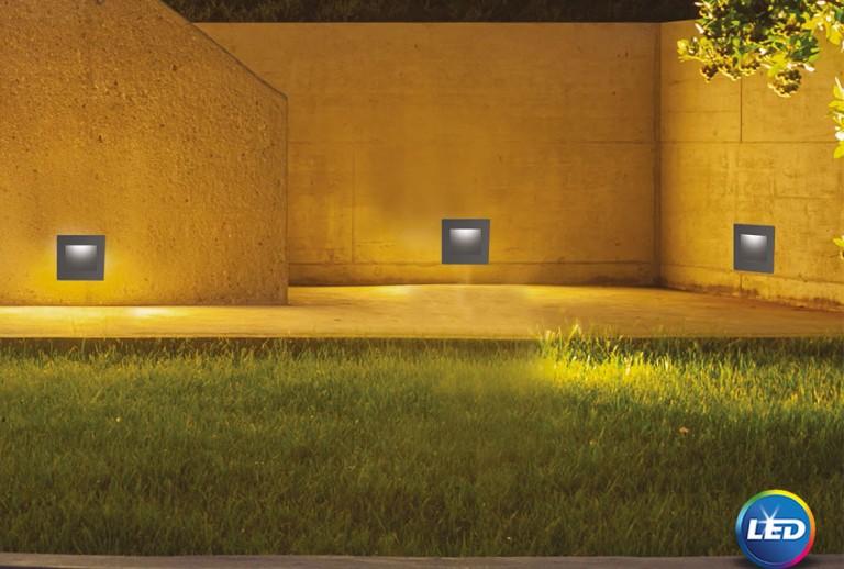 335 - 727002 - LED Επιτοίχιο Φωτιστικό εξωτερικού χώρου