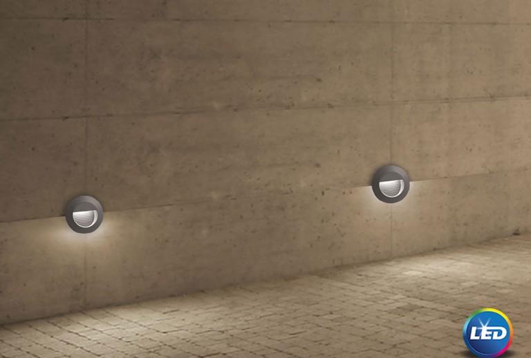 335 - 726407 - LED Επιτοίχιο Φωτιστικό εξωτερικού χώρου