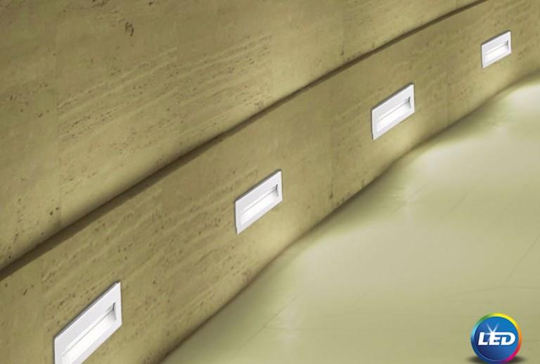 335 - 726405 - LED Επιτοίχιο Φωτιστικό εξωτερικού χώρου