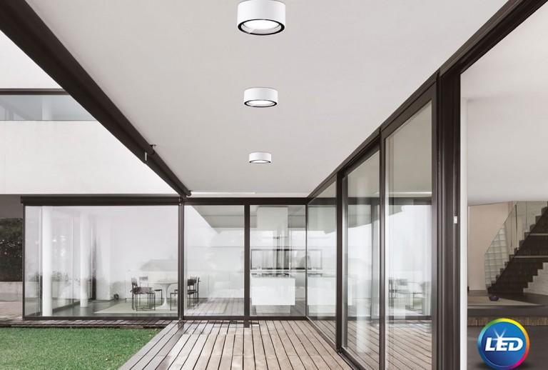 335 - 752462 - LED Φωτιστικό Οροφής Εξωτερικού Χώρου