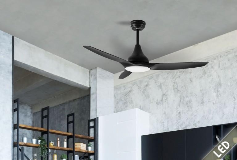 335 - 5267302 - Ανεμιστήρας Οροφής με LED Φως