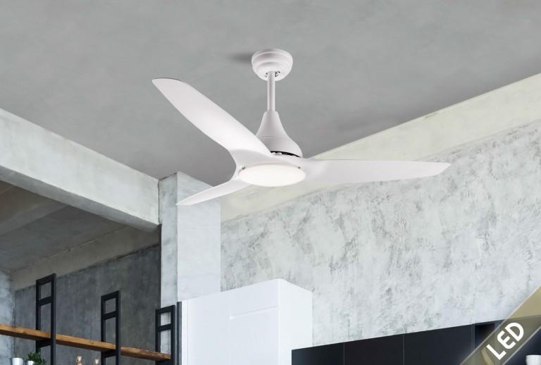 335 - 5267301 - Ανεμιστήρας Οροφής με LED Φως