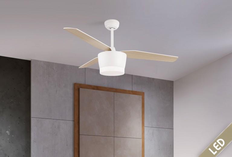 335 - 5260261 - Ανεμιστήρας Οροφής με LED Φως
