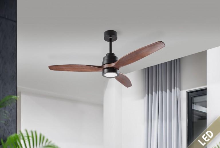 335 - 5231401 - Ανεμιστήρας Οροφής με LED Φως