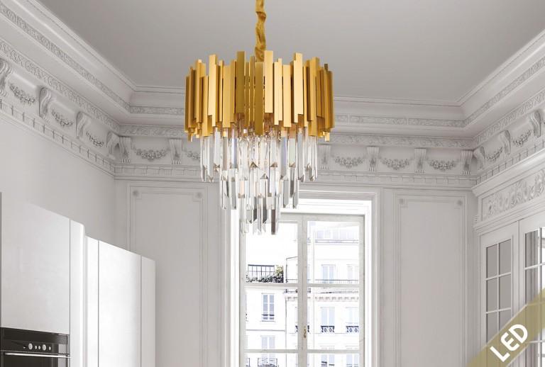 335 - 9364039 - LED Crystal Pendant Lighting