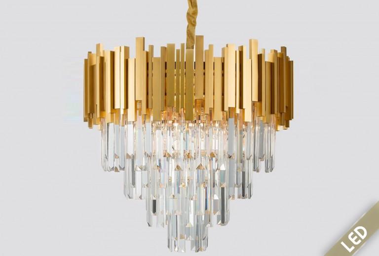 335 - 9181200 - LED Κρυστάλλινο Κρεμαστό Φωτιστικό