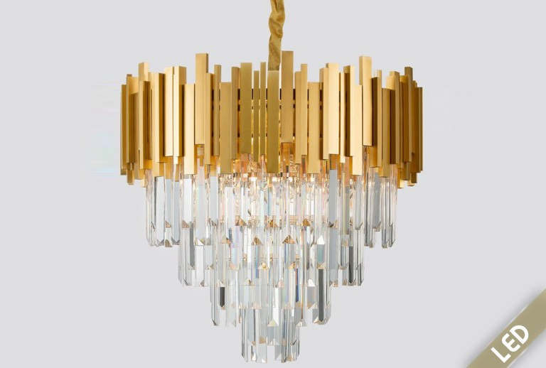 335 - 9181200 - LED Crystal Pendant Lighting